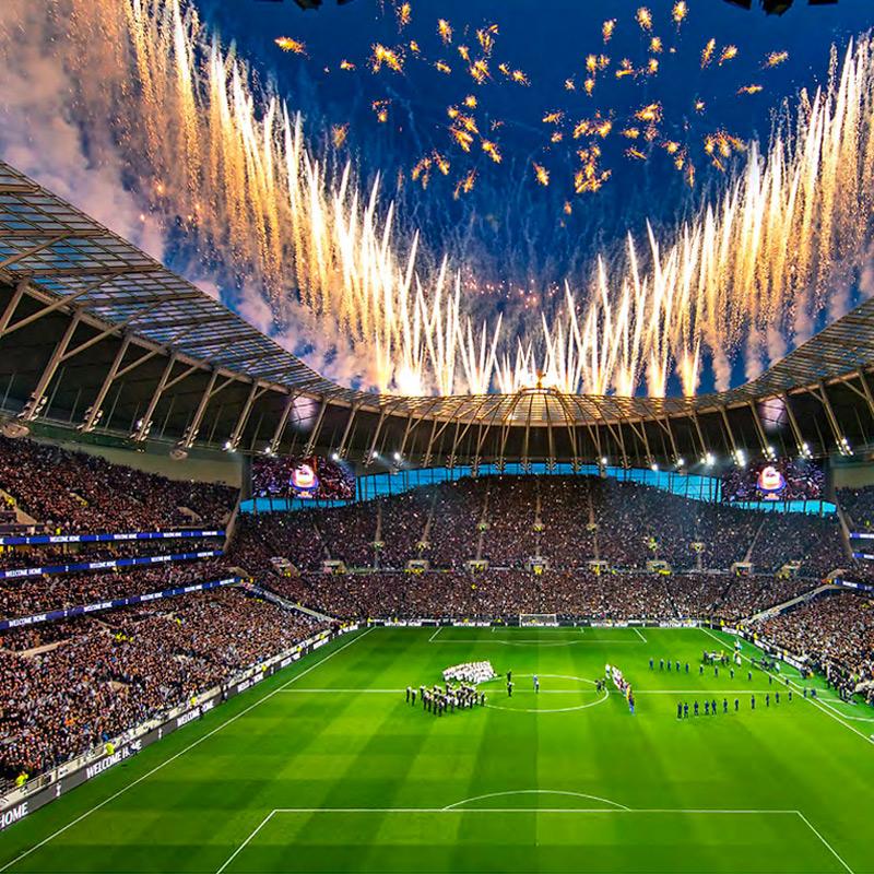 Tottenham Hotspur Club Museum Digital Displays